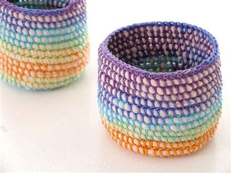 creative reuse workshop basket weaving  internet cords