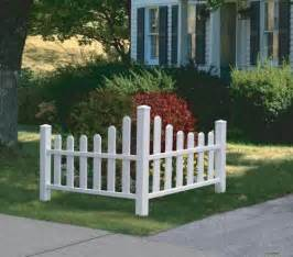 corner fence landscaping corner picket fence small planting area to mark southwest boundary so kids know where our