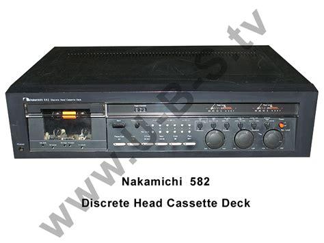 Nakamichi 582 Cassette Deck nakamichi 582 discrete cassette deck ebay