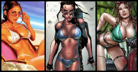 24 Hot Pictures Of Lara Croft