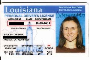 Revamp id for Louisiana id template