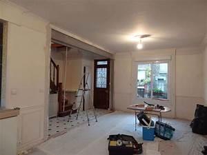 casser un mur idees decoration interieure With tomber un mur porteur