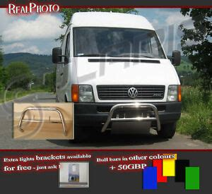 volkswagen lt 96 06 bull bar without axle bars gratis stainless steel 20 ebay