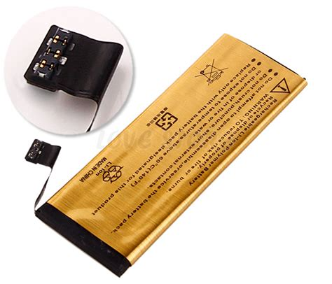 Best Battery For Iphone 5s Premium For Apple Iphone 5s 5c Replacement Battery 2680mah