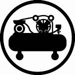Compressor Air Clipart Icon Svg Onlinewebfonts Cdr