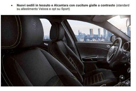 Interni Alfa Giulietta by Alfa Romeo Giulietta 2019 Un Aggiornamento Presentato A