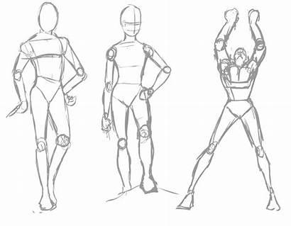 Poses Human Drawing Figure Superhero Cgtalk Getdrawings