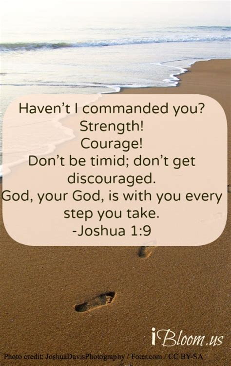 Bible Quotes About Strength And Courage Quotesgram