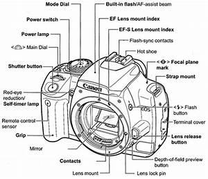 Canon T5i Diagram