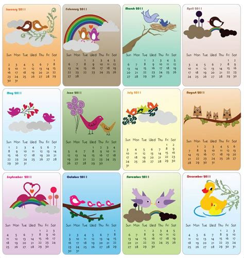stuff calendar wallpapers