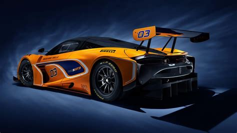 Racing Car by The Mclaren 720s Gt3 Race Car Will Hit The Track In 2019
