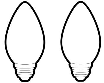 christmas light bulb template search results for coloring page christmas light bulb