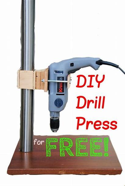 Drill Press Diy Homemade Tools Build Woodworking