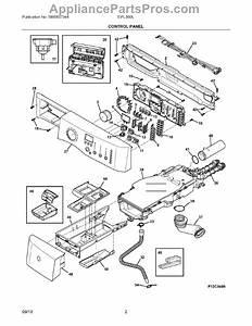 Parts For Electrolux Eifls60lt1  Control Panel Parts
