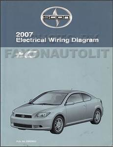 2007 Scion Tc Wiring Diagram Manual Original