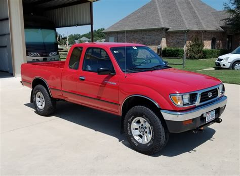 Toyota Tacoma 1997 by One Owner 1997 Toyota Tacoma 4wd 5 Speed For Sale On Bat