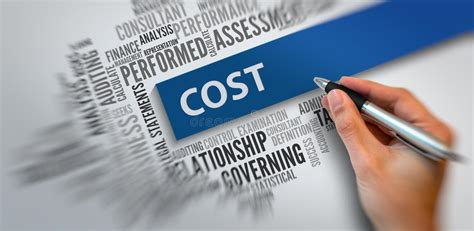 COST | Business Concept stock photo. Image of materials ...