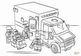 Ambulance Template Coloring Sketch sketch template