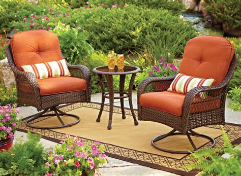 this cheery bhg azalea ridge bistro set with 2 swivel