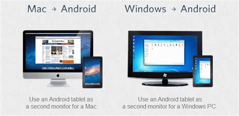 android tablet as second monitor air display for android use your tablet as a wireless