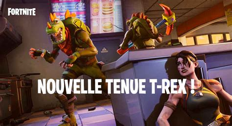 fortnite battle royale la nouvelle tenue du  rex est