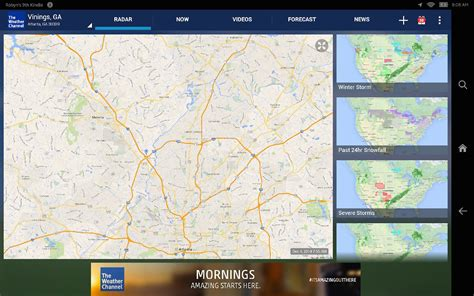 the weather channel app for android tablet the weather channel for android it appstore per