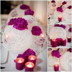 easy peasy diy string spheres one stylish bride With diy wedding reception ideas