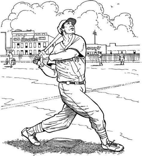 boston red sox batter baseball coloring page purple kitty
