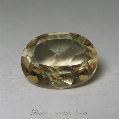yellow topaz kalimantan jual batu topaz kuning origin brazil 1 9 carat