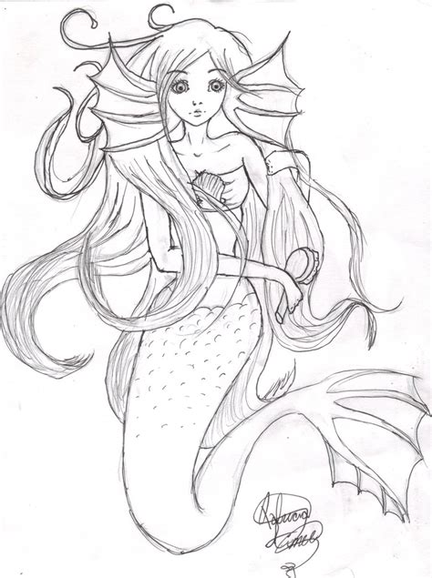 mermaid  patimusiclover  deviantart