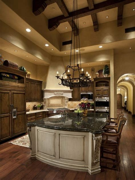 rj gurley custom homes tuscan kitchen design
