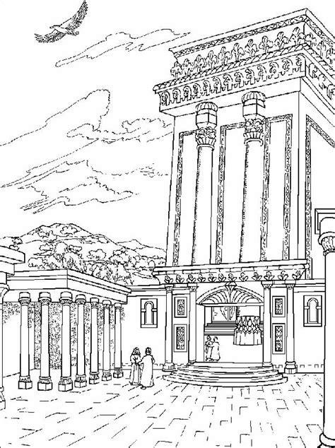 Tempel Kleurplaat by De Tempel Te Jezuzalem Gkv Apeldoorn Zuid