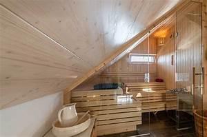 Sauna Mit Glasfront : sauna mit glasfront unterm dach zimmerei und saunabau ~ Orissabook.com Haus und Dekorationen