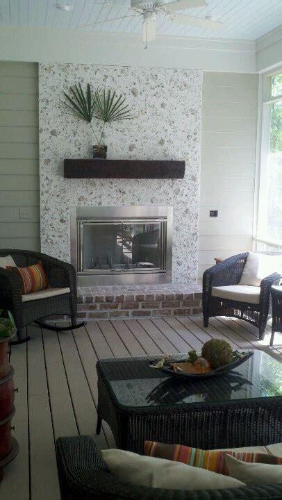love   fireplace    porch