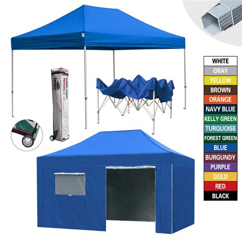 heavy duty ez pop commercial canopy outdoor patio tent wwheeled bag ebay