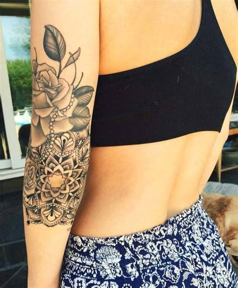 tattoo mandala bras femme idees de tatouages  piercings
