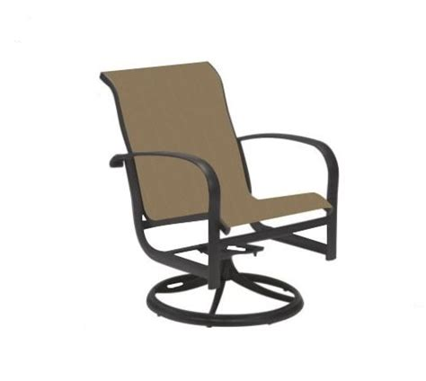 telescope casual patio furniture chair slings