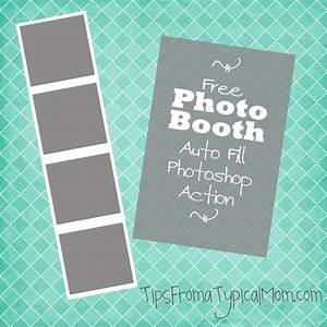 free photo booth frame template auto fill photoshop action With photo booth template psd