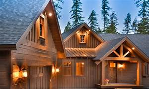 New Whitefish Custom Homes featuring Mountain Architecture