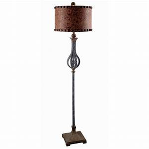 Sheridan floor lamp for Rustic star floor lamp