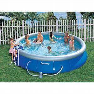 Piscine Gonflable Avec Pompe : piscine autoportante ronde avec pompe de filtra achat ~ Dailycaller-alerts.com Idées de Décoration