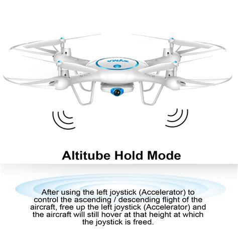 syma xuw wifi fpv drone  p hd camera ghz rc quadcopter extra battery  ebay