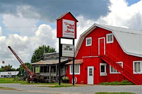 Alabama Barns by Barn Restaurant At Demopolis Al Rural Southwest
