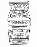 Oven Coloring Pages Wenchkin Yucca Flats Skull Dead Yuccaflatsnm Colouring sketch template