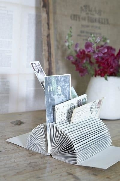 upcycle  favorite books   clever diy projects