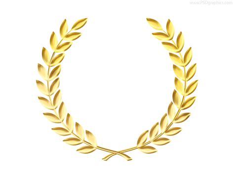 golden clipart laurel wreath pencil   color golden