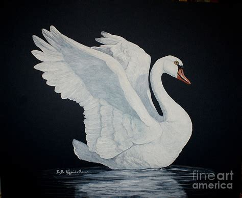 the white swan painting by didi higginbotham