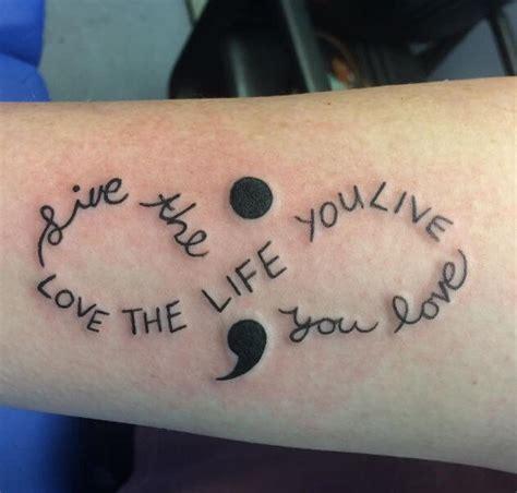 unique semicolon tattoo ideas  meaning