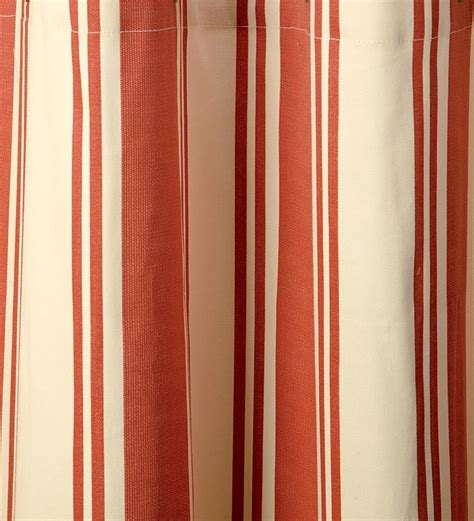 thermalogic wide stripe tab top insulated window curtains 72 quot l
