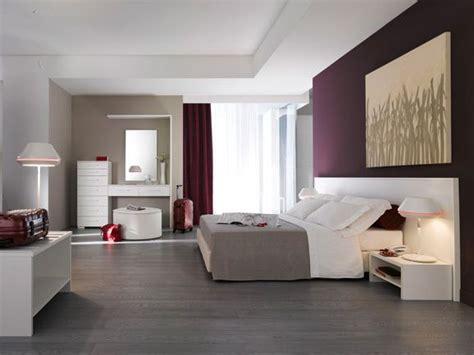 Camera Da Letto Moderna. Modern Bedroom. Composizione
